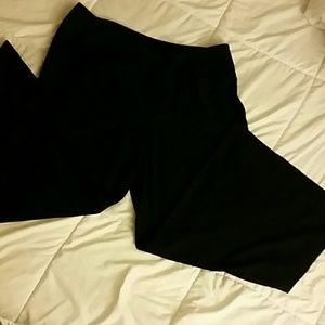 Black Bellbottom pants